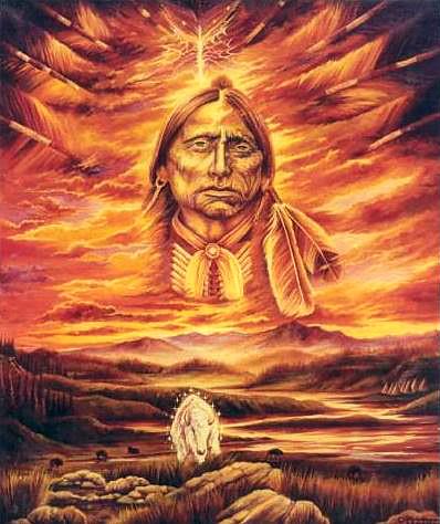 Sense the Sacred  Land-Oil on Canvas