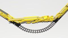 Plasser 09 (Hod Carrier) Tags: octrainber rm900 ldd train lego networkrail highoutputballastcleaner plassertheurer