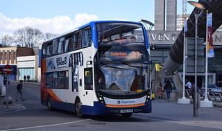 Stagecoach Midlands Alexander Dennis Enviro 400MMC, 10733
