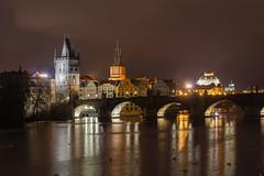 Praha - Prague - Praga (Txulalai) Tags: praha prague praga chequia republicacheca nocturna travel arquitectura monumento puente bridge agua sony sonyilce6000 sonya6000 sonyalpha6000