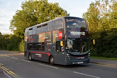 YX15 OXV (markkirk85) Tags: birmingham bus buses alexander dennis e40d enviro 400mmc national express west midlands new 52015 6703 400 mmc yx15 oxv yx15oxv