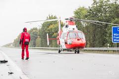 Motorradunfall auf der A3 bei Limburg 30.09.17 (Wiesbaden112.de) Tags: a3 dennisaltenhofen limburg motorradunfall rettungsdienst rettungshubschrauber unfall wiesbaden112