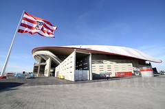 Wanda Metropolitano (Mariano Alvaro) Tags: estadio wanda metropolitano madrid canillejas futbol las musas san blas atletico bandera