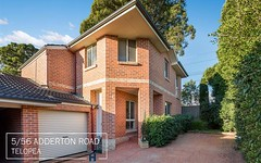 5/56 Adderton Road, Telopea NSW