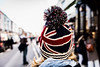 London; Portobello Road (drasphotography) Tags: london great britain england drasphotography travel streetphotography girl cap mütze portobello road market union jack strasenfotografie dof bokeh urban