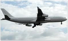 (Riik@mctr) Tags: manchester airport egcc 9hjai airplane sky hifly malta airbus a340 msn 236 ex 9vsjn a6erm