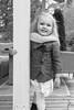 Girl and smile (jannaheli) Tags: finland vantaa lapsivalokuvaus childphotography tyttö girl lapsi child nikond7200 syksy autumn mv mustavalkonen bw blackwhite beautiful suomi playtime