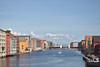 Nidelva in Trondheim (Arnold Metselaar) Tags: rivier gebouw fietsvakantie norway pakhuis trondheim nidelva