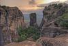 Twilight at Meteora (Twilight Tea) Tags: august 2017 greece meteora