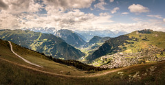 Verbier (Steven-ch) Tags: switzerland eos5dmarkiv summer sixblanc wallis clouds schweiz lesruinettes paraglidingtakeoff croixdesruinettes verbier canon panorama valais alps mountain bagnes ch