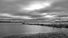 A tranquil morning (BigWhitePelican) Tags: helsinki finland lauttasaari sea suomenlahti morning sunrise shore blackandwhite adobelightroom6 niktools 2017 october