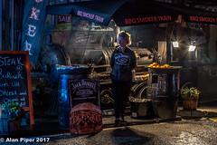 Street food at the fair (PapaPiper) Tags: chippingsodbury mopfair 2017 southgloucestershire village nightscape night unitedkingdom england food streetscene streetfood street september foodvendor
