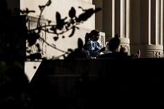 20171017_ILoveA2_JX001 (Michigan Engineering) Tags: woman dei diversity environmentengineering ee undergraduatestudent urm individual campus studying negativespace campuslife contrast shadows horizontalframing cee diag