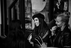 A star around my eyelids (.KiLTRo.) Tags: paris îledefrance france fr kiltro desenfantesrouges gente retrato people portrait beauty girl woman cafe city street beautiful smile french