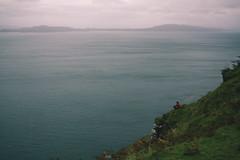 (iannuccisarah) Tags: isle skye scotland island uk northern north autumn tour guide man thoughtful seat overlook coast sea water ocean stretch view