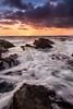 Corona Del Mar Sunset (RyanLunaPhotography) Tags: 1635 cdm canon coronadelmar evening newportbeach ocean orangecounty socal southerncalifornia beach landscape seascape sunset