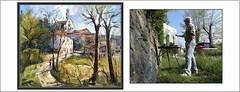 SANT BOI DE LLUÇANÉS-PINTURA-PINTANT-PAISATGES-POBLES-TARDOR-OSONA-CATALUNYA-FOTOS-QUADRES-ARTISTA-PINTOR-ERNEST DESCALS (Ernest Descals) Tags: santboidelluçanés tardor osona barcelona catalunya cataluña catalonia art arte artwork paisatge paisatges poble pobles pueblo village pueblos catalans catalanes otoño landscape landscaping paisaje paisajes pintura pinturas paint pictures pintures quadre cuadro cuadros quadres pintant pintar pintando painting paintings pintor pintors pintores painter painters església iglesia church campanario campanar camins camino arbres arboles llum luz light ernestdescals plastica plàstics plasticos artistes artistas artista autumn