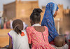 Girls - Agadez (Hannes Rada) Tags: niger agadez girls
