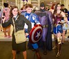 DSC_0066 (Randsom) Tags: newyorkcomiccon 2017 october7 nycc comic convention costume nyc javitscenter marvel superhero marveluniverse dccomics batman batmanfamily wonderwoman heroine superheroine captainamerica hero agentcarter avengers cosplay group