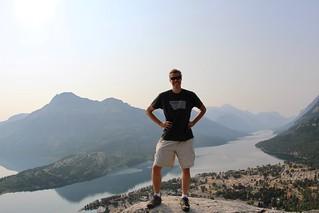 David on Bears Hump viewpoint