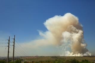 Modderfontein field fire