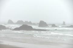 Foggy Oregon Coast (pete4ducks) Tags: raw oregon oregoncoast 2017 summer wayer ocean pacificocean waves on1pics 500views