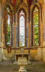 Kirchenruine Wachau  (2) (berndtolksdorf1) Tags: deutschland sachsen wachau leipzig markleeberg sakralbau kirche ruine abandoned historisch outdoor