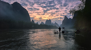 Xing Ping at dawn
