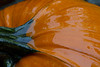 Shiny Wet Pumpkin (brucetopher) Tags: pumpkin punkin orange shiny wet glistening halloween fall autumn gourd decoration seasonal season vegetable fresh water rain weather