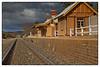 Storm approaching Borenore (cupitt1) Tags: storm thunder rain weather borenore station train railway tracks rails nsw orange