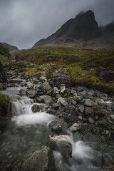 small Scottish river (cfaobam) Tags: scotland europe scottish landschaft ufer langzeitbelichtung long exposure landscape water travel photography europa nature national geographic cfaobam wasser sony a7r globetrotter outdoor himmel gras see berg meer