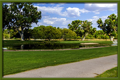 Tubac Number Nine (Sugardxn) Tags: garypentin sugardxn southwest photoshop picswithframes golf landscape lakeside lake tubac canon canoneos7d canon7d