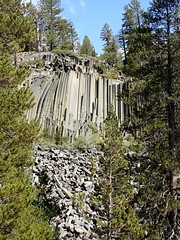 California, Mammoth Lakes, Devils Postpile National Monument DSCN0475 (ianw1951) Tags: basalt california columnarjointing lava usa geology