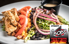Bob's Everett Garden Chipotle Cobb Salad (*HMG*) Tags: pentaxk1 food hd pentaxd fa 2470mm f28ed sdm wr