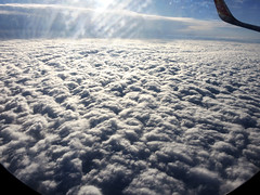 Quilt Cloud (MelindaChan ^..^) Tags: quilt cloud nature sky fly flight wing window inflight china chanmelmel mel melinda melindachan