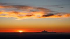 The Last Light (blue polaris) Tags: new zealand tongariro national park egmont mt ngauruhoe taranaki volcano volcanoes sunset cloud sky landscape