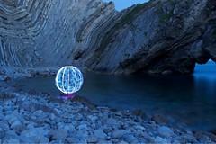 (spenceiley) Tags: calmwater orb longexposure nikon sooc lulworthcove lightpainting lpwalliance lightart lightjunkies dorset