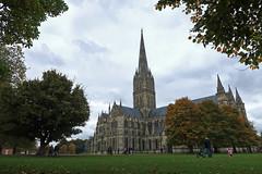 Salisbury (Jainbow) Tags: salisbury salisburycathedral cathedral grass jainbow