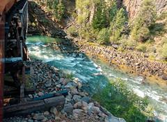 Bridge over the Animas River R1004053 Durango & Silverton RR (Recliner) Tags: baldwin dsng drg