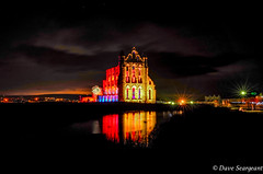 Whitby Abbey (daveseargeant) Tags: whitby abbey lit leica x typ 113 seaside north yorkshire