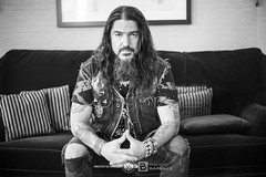 Machine Head (Philippe Bareille) Tags: machinehead robbflynn groovemetal thrashmetal numetal catharsis promotion paris france music canoneos6d eos 6d portrait artist rockband hardrock rock musicwavesfr 2017 monochrome blackandwhite bw