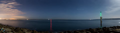 303/365 Our New Backyard ([inFocus]) Tags: 365 3652017 project365 photoaday photooftheday south southcoast bournemouth poole newhome panorama sea seascape landscape night nightshot nighttime nightsky stars long longexposure sandbanks beach