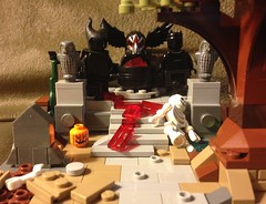 There's No Going Back (David$19) Tags: creepy strange weird lego legomoc halloween legohalloween scary monsters