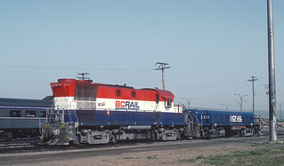 BCOL 609 (RS-18, ex-PGE 595) and S404 (ex-PGE 560, ex-LS&I 1606, RS-3)