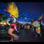 Aztec Dancers at Day of the Dead thumbnail
