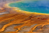 Tear (gregoryphoto150) Tags: tear colors colours thermal spring prismatic grand grandprismatic yellowstone water blue landscape heat boil steam caldera volcanic bacteria mats bacterial