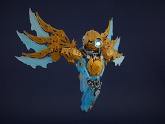 Blue Guardian (Anthony (The Secret Walrus) Wilson) Tags: lego moc toy afol tfol bionicle creation