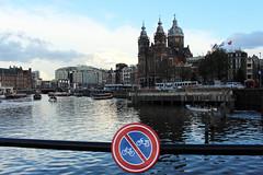 Vélo interdit... (Lokazionel.fr) Tags: holande paysage amsterdam canaux de appel