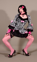 137H4L (klarissakrass) Tags: baroque costume lolita cosplay heels highheels stockings legware legsexy legfashion sexylegs tranny crossdresser gurl funny