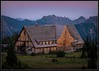 Sunrise Lodge At Dusk (Ernie Misner) Tags: f8andseekbeauty sunrise sunrisewashington mountrainier mountrainiernationalpark washington erniemisner nikon d810 nik lightroom topazstudio topaz 2470f4 lovesmallanimals